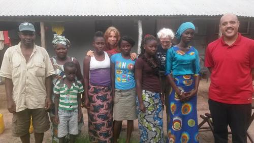 Visiting a Baha'i family in Kiti